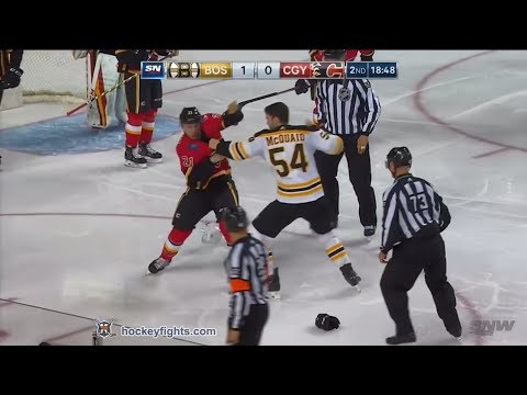 Adam McQuaid vs Garnet Hathaway Feb 19, 2018