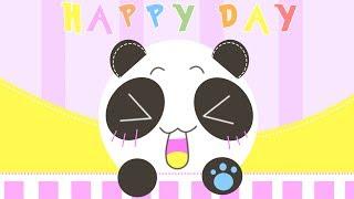Happy Day || Japanese Emoticons - Photoshop
