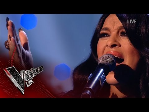 Michelle John performs 'I Can't Make You Love Me': The Knockouts | The Voice UK 2017