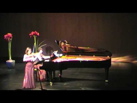 Sonata for violin and piano A-Dur - IV - César Frank - Valya Dervenska, Nadja Höbarth
