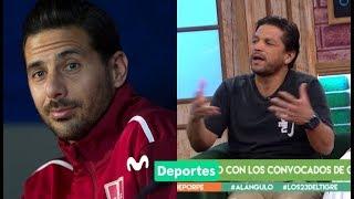 Al Ángulo: ¿Claudio Pizarro se autoexcluyó de la Selección Peruana? | DEBATE y OPINIÓN