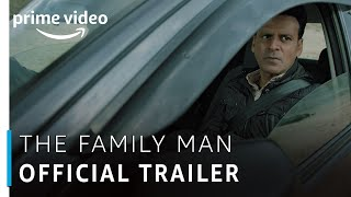 The Family Man - Official Trailer | Raj & DK | Manoj Bajpayee | Amazon Original | Watch Now