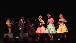 Ronald Simone Singing Sway With The Puppini Sisters