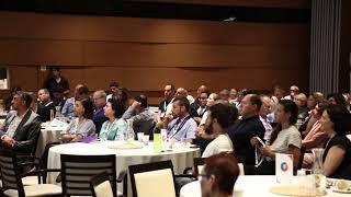 """אלונה בר און יו""""ר גלובס בהרצאה בכנס ייעוד בעסקים של ארגון קפיטליזם קשוב ישראל"""