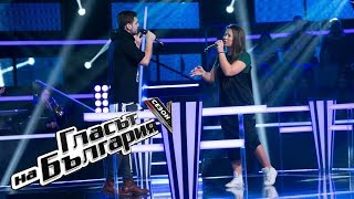 Niya vs Raphael - Dancing on My Own - The Voice of Bulgaria 5 - Battles (08.04.2018)