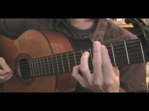 Andy McKee - Shanghai cover on a classical guitar