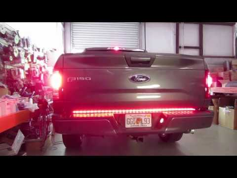 How to install a 5 function LED truck light bar