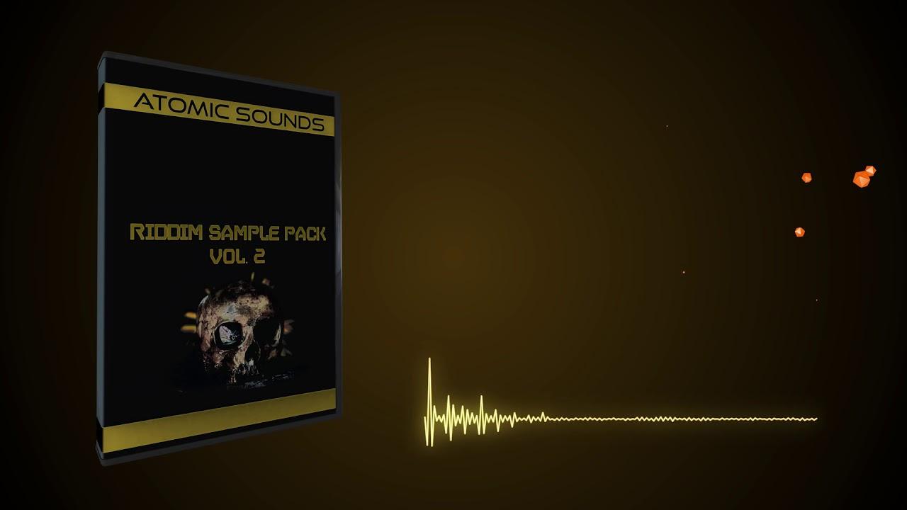 Atomic Sounds - Riddim Sample Pack Vol  2 by OVA - Free