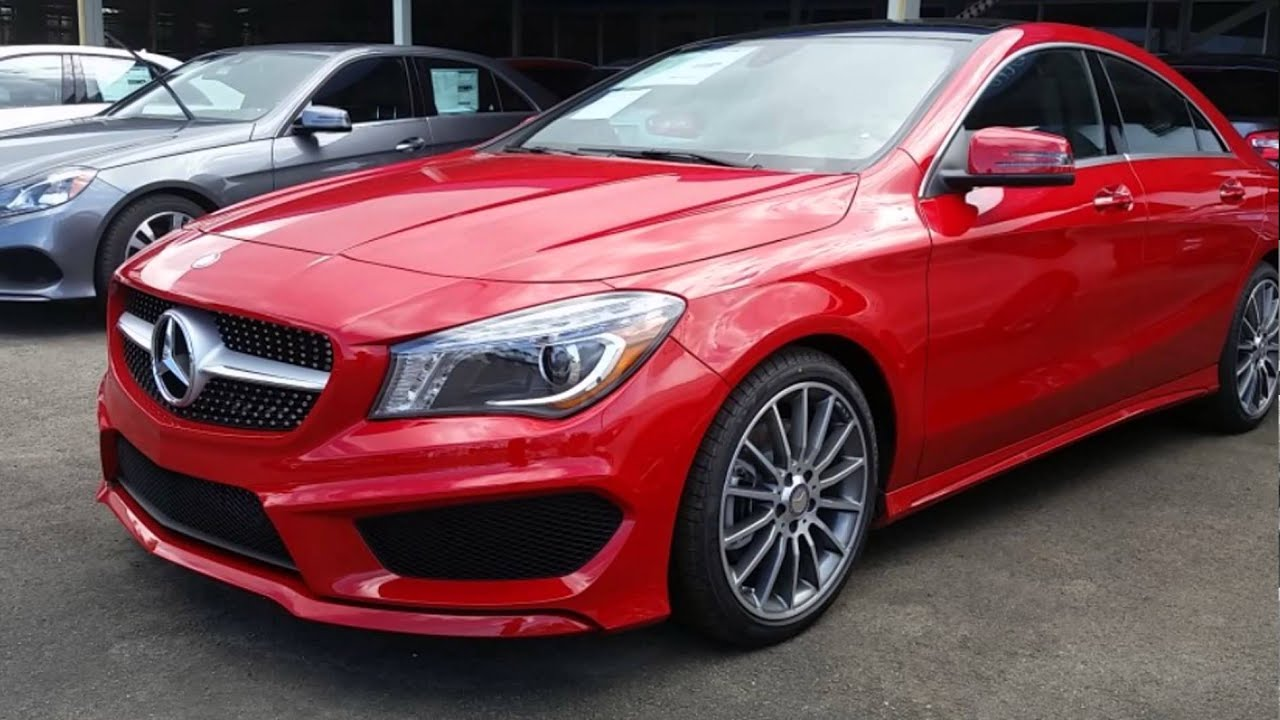 2016 mercedes benz cla250 jupiter red youtube