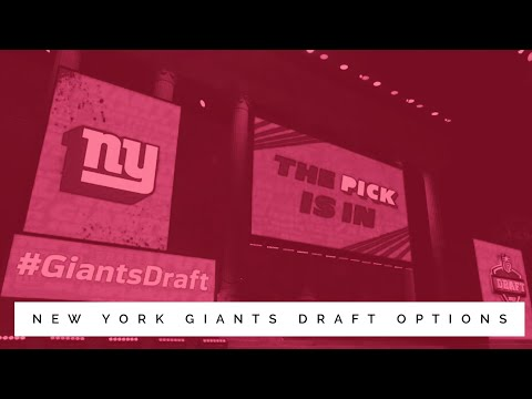 Wake Up To Some New York Giants Chat! Draft Options, Jets Trade Up, & More.