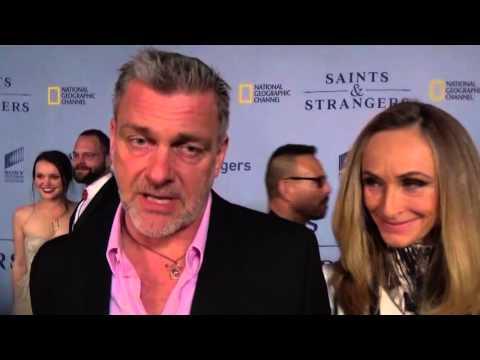 Ray Stevenson Saints & Strangers Interview