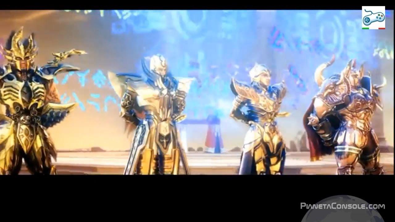 HD Legend of Sanctuary Trailer 2º Saint Seiya Shaka Virgo Milo Scorpion