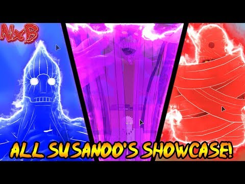 ALL SUSANOO SHOWCASE! (THE BEST SUSANOO IN GAME?) | Naruto RPG: Beyond
