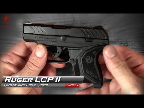 Ruger LCP II Unboxing and Field Strip