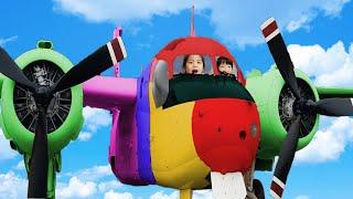 심심할때는 공원에 놀러가요!! 서은이와 유준이의 김포 함상공원 나들이 비행기 탱크 전함 배 신기한게 너무 많아요 War Park for Kids Airplane and Boat