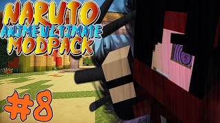 TAILED BEAST HUNTING! || Naruto Anime Ultimate Modpack Episode 8 (Minecraft Naruto Anime Mod)