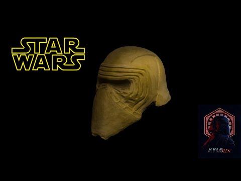 Слепок маски Кайло Рена из Звездных Воин
