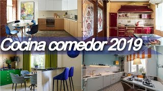 Gambar cover 🥫 100 decoracion de cocina comedor 2019 🥫