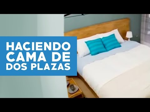 C mo hacer una cama de dos plaza viyoutube for Sillon cama una plaza plegable