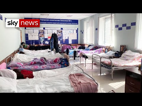 The Russian hospital struggling to cope with the number of COVID-19 patients