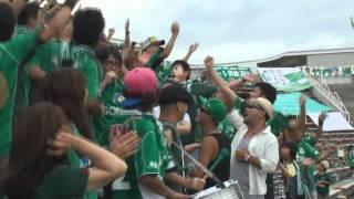 2010松本山雅FCファン感謝デーにて、松本山雅FCサポーターズソング ...