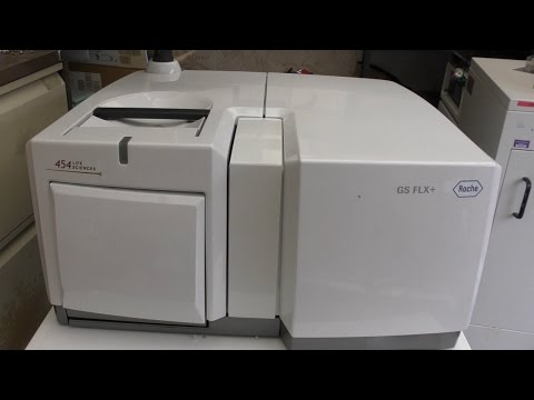 Roche 454 GS FLX+  DNA Genome sequencer teardown