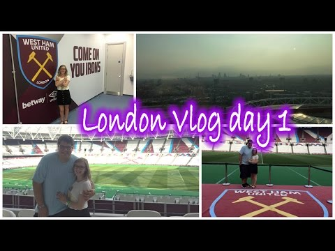 We're going to London! | Olympic Stadium tour/ ArcelorMittal Orbitl | Sophie