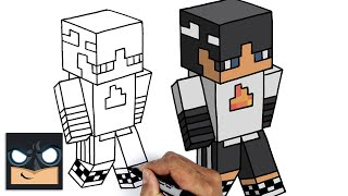 How To Draw SapNap | Dream SMP || Minecraft Skin Tutorial