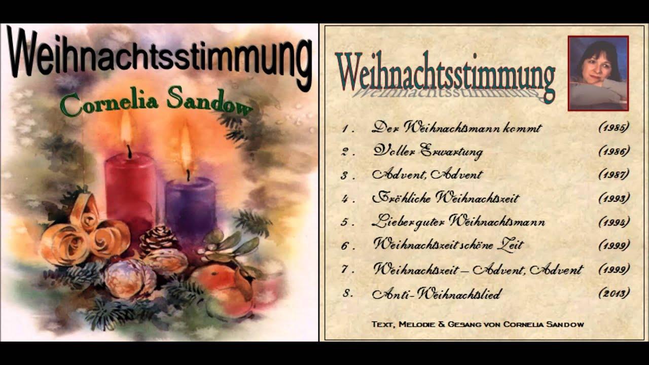 Cornelia Sandow - Weihnachtsstimmung: 08 Anti-Weihnachtslied - YouTube