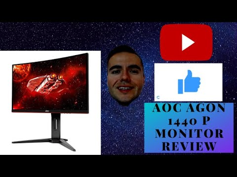 AOC AGON 1440P MONITOR REVIEW★☆★ 144 HZ Refresh Rate Monitor ★☆★ Best Budget MONITORS