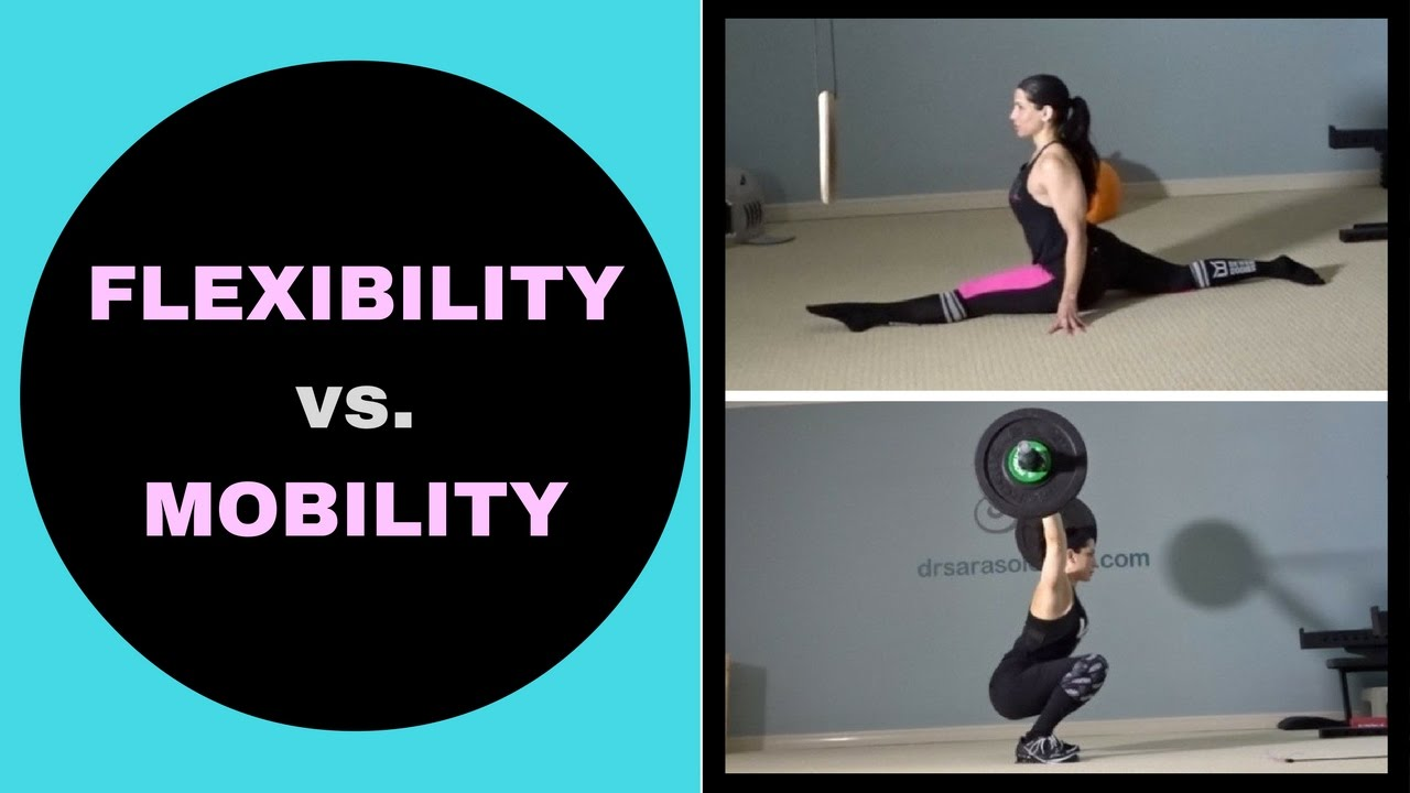 Image result for mobility vs flexibility