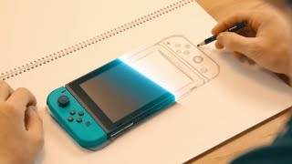 Sketchbook drawing = REAL LIFE!?【RATE】Switch