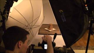Sony Alpha a77 in a simple still life studio setup