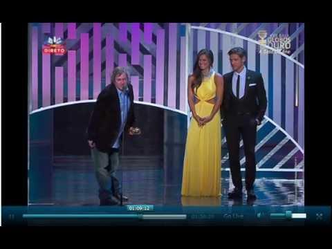 Discurso Jorge Palma nos Globos de Ouro 2012