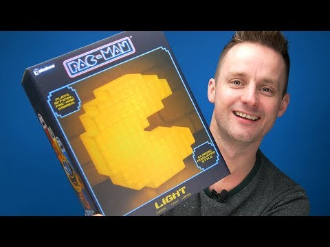 PAC-MAN Pixelated Light Unboxing | Paladone TV