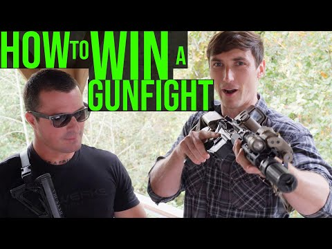 Army Ranger explains how to win a gunfight (With KAGWERKS)