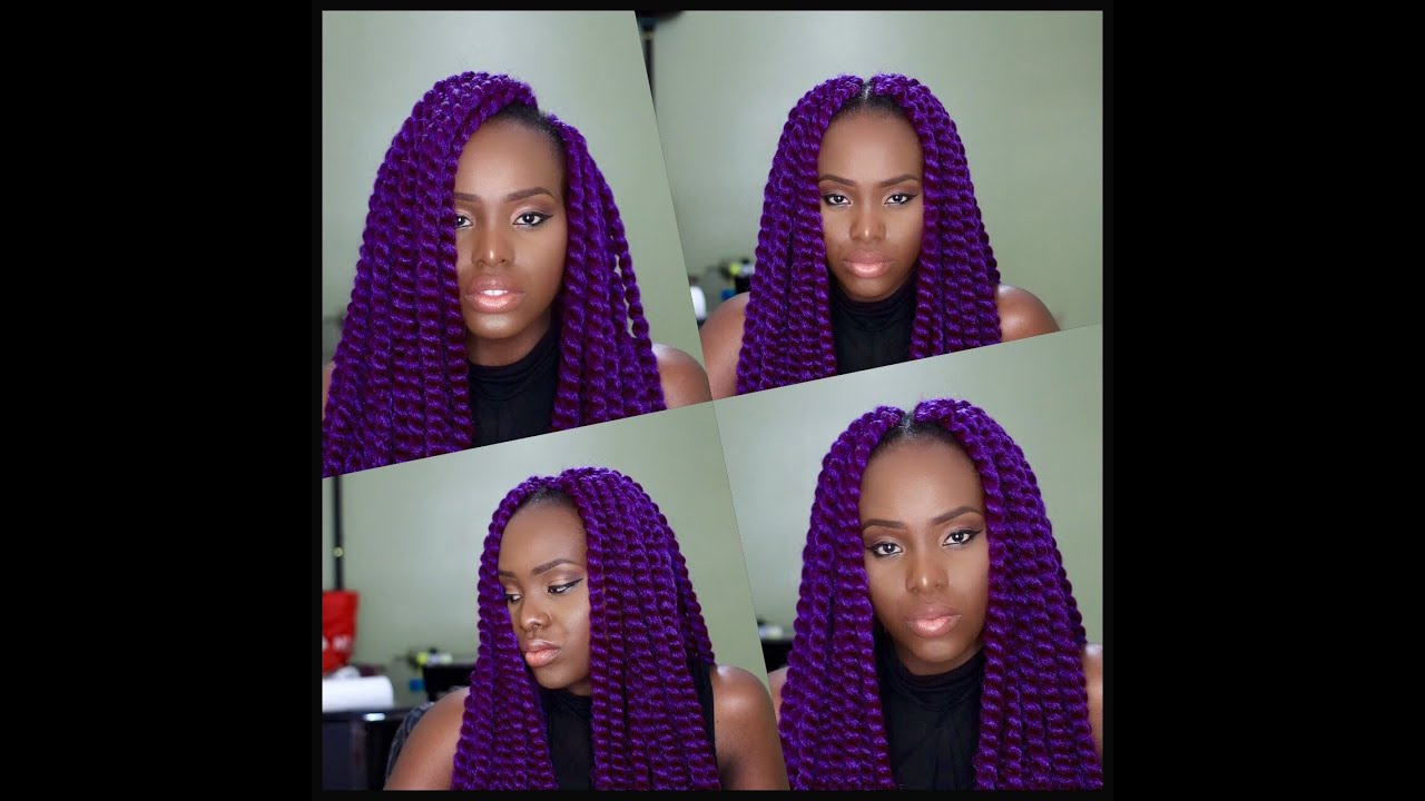 Quick and easy Crochet Braids Havana Mambo Twist TAILO - YouTube