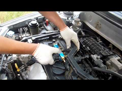 injector rail of CNG/LPG conversion kits installation video