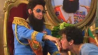 EXCLUSIV THE DICTATOR Aladeen Interview with tortured Daniele Rizzo - Sacha Baron Cohen