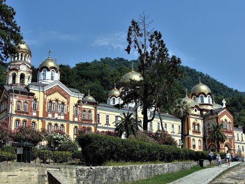 Новый Афон, Абхазия август 2017, Новоафонский монастырь