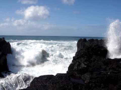 "Azores Taxitours "" Ocean Atlantic wave power in Ferraria """