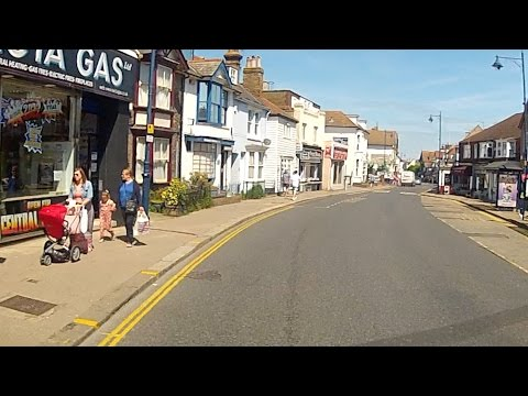 Go Pro HD camera car Whistable in Kent enjoy the ride