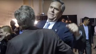 Jeb Bush Chest Bumping In New Campaign Ad