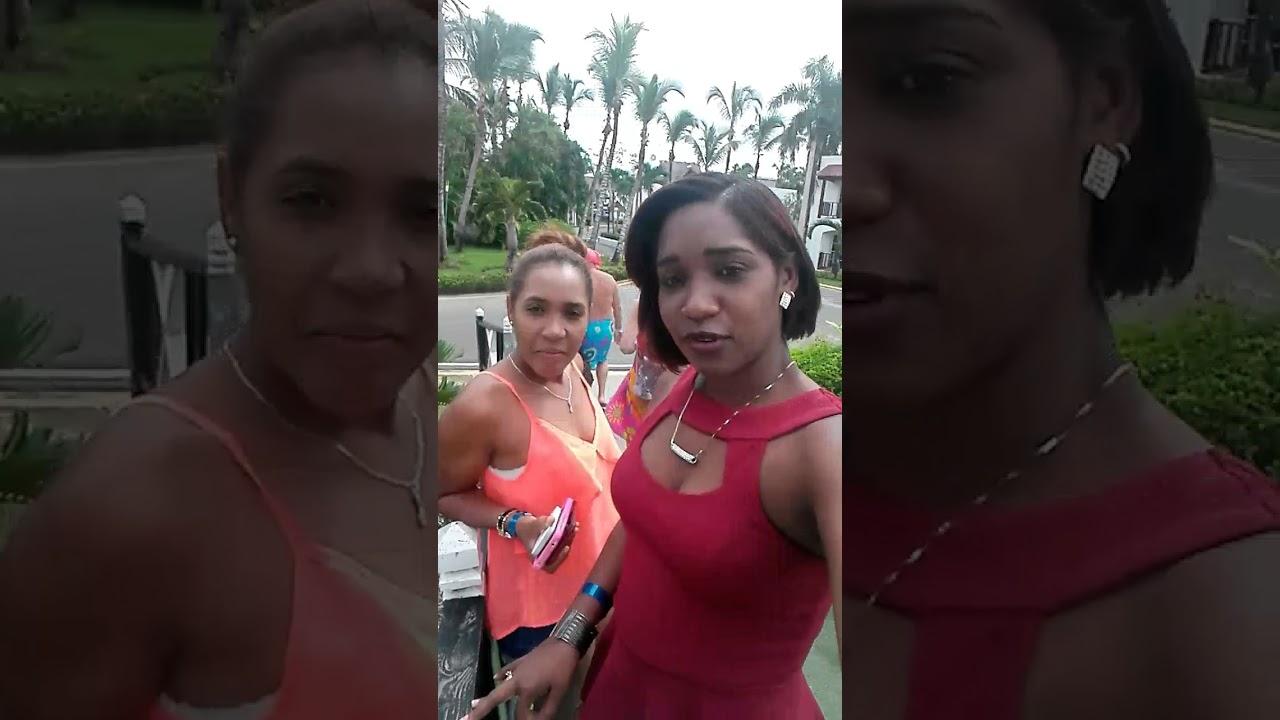Visitando el hotel Hamaca de Boca chica