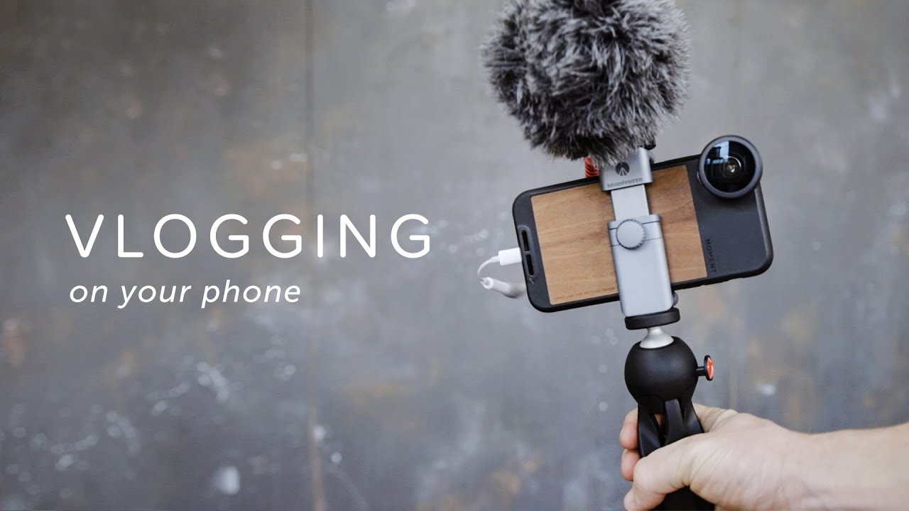 huge selection of 74944 136c0 How To Vlog On Your Phone | The Gear You Need