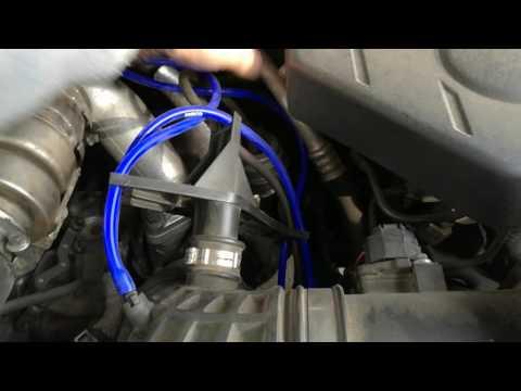 Вакуумные трубки на Nissan Pathfinder 2.5 dCi 2008