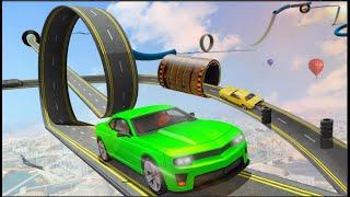 Crazy Car Stunt Driving Games - Car Simulator - New Car Games 2021- Android Gameplay - Part 1 screenshot 4