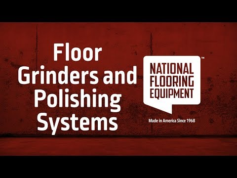 Flooring Grinders And Polishing Systems