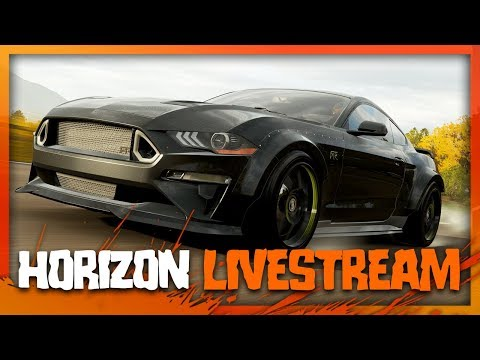 (LIVE) Forza Horizon 4 - New Formula Drift RTR Mustang thumbnail
