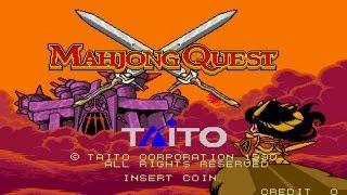 Mahjong Quest 1991 Taito Mame Retro Arcade Games